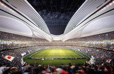 Japan National Stadium by Zaha Hadid Architects