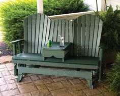 5′ Adirondack Glider with Center Table