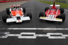 Driving Lauda and Hunt's F1 racers