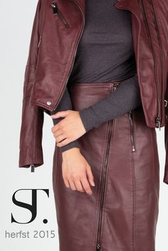 """De herfstkleur van Supertrash: Burnt Sienna, In de nieuwe collectie """"herfst 2015"""" van Supertrash is de dominerende kleur Burnt Sienna. MEER  http://www.pops-fashion.com/?p=23349"""