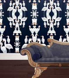 Romantic connections between the majestic birds of the Egret print bring to light the joy of the first breeding pair found in Britain. Full of elegance and character, this series adds both playfulness and class to any room. Product Code: Badgers Of Bohemia  Blue Plumes Over sized 0005 Colour: [...]