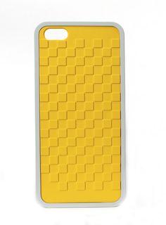 Pixels iPhone 5 Yellow (case)