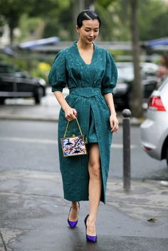 Haute Couture Street Style Fall 2014 - theFashionSpot
