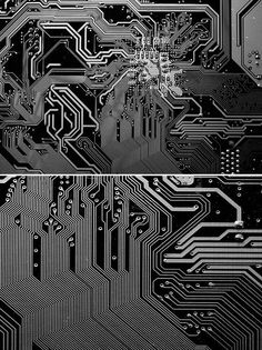 Circuit Board imagery for pattern and drawing inspiration (Cora Clarke for Zine… Op Art, Design Textile, Ex Machina, 3d Prints, Grafik Design, Textures Patterns, Cosmos, Cyber, Pattern Design