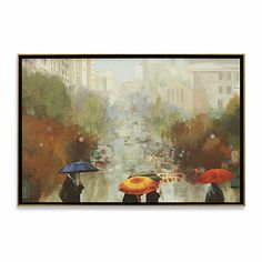In The Rain Wall Art - BedBathandBeyond.com