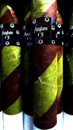 Up close with Asylum 13 Ogre Cigar