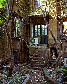 青山同潤会アパート: 100 years old retro art deco apartment