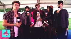 Absolutely love these boys: 7 second challenge by The Vamps backstage at Fusion!