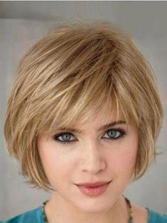 20 super chic hairstyles for fine straight hair Bob haircut with . 20 super chic hairstyles for Short Hairstyles Fine, Bob Hairstyles With Bangs, Bob Haircuts For Women, Chic Hairstyles, Short Bob Haircuts, Haircut Bob, Haircut Short, Straight Haircuts, Hairstyle Ideas