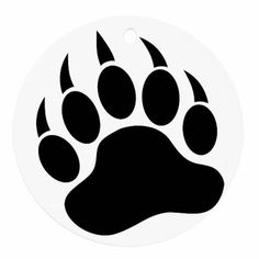 Great free clipart, png, silhouette, coloring pages and drawings that you can use everywhere. Native Art, Native American Art, Native Symbols, Applique Patterns, Beading Patterns, Bear Paw Print, Bear Silhouette, Bear Claws, Bear Art