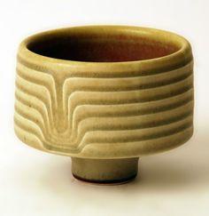 Karl Scheid; Glazed Stoneware Vessel, 1974.