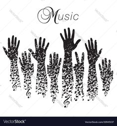 76 best curti images on pinterest adobe illustrator notes and pdf a creative musical background made with hands and notes download a free preview or high malvernweather Choice Image
