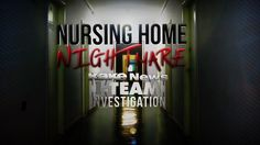 I-Team Investigation: Nursing Home Nightmare Part 1. The video shows an employee of the facility lifting Donna out of her wheelchair and dropping her on the floor. He turns off the light and then leaves the room.