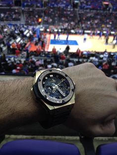 Hublot Big Bang King on point for the LA Clippers