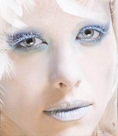 #makeup  Looks like a Winter Princess