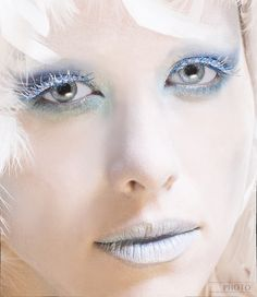 #makeup  Looks like a Winter Princess