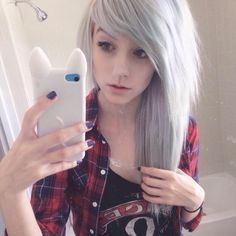 Brianna) well... I tried a new hair color... I don't really like it... I might just go back to red...
