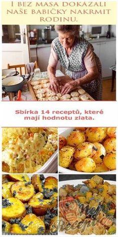 Skvělé recepty našich babiček, na které by se nemělo zapomínat. Brambory byly tradiční jídlo, které se podávalo na milión způsobů - vařené, sťouchané, pečené nebo smažené. I ze základních surovin se dalo uvařit skvělé jídlo, které nasytilo. Speciality našich babiček chutnaly snad každému.