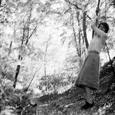 Vivian Maier swinging on a vine - Vivian Maier American Photographer