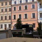 Lublin - rynek Amalfi, Multi Story Building
