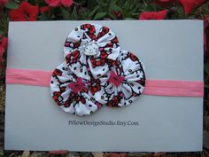 Hello Kitty headband  girls head band by PillowDesignStudio, $6.99