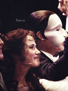 Christine and The Phantom | Curtain Call | The Phantom of the Opera | Stage Production | 25th Anniversary | Sierra Boggess and Ramin Karimloo | I ship this friendship and stage chemistry