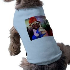 #Rock dog - pug party - pug guitar - dog rocker shirt - #puppy #dog #dogs #pet #pets #cute #doggie #doggieshirt