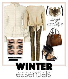 """Winter Style - Puffer Jacket"" by kiwipenguin ❤ liked on Polyvore featuring Elizabeth Roberts, Yves Saint Laurent, Boohoo, Aspinal of London, Christian Louboutin, Steve Madden, Alinka and Jennifer Lopez"