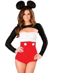 Sexy Miss Mouse halloween costume