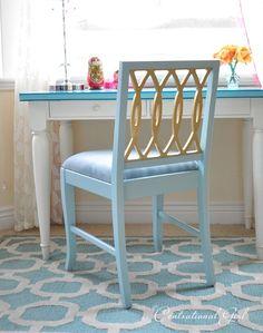 gold leaf chair cg