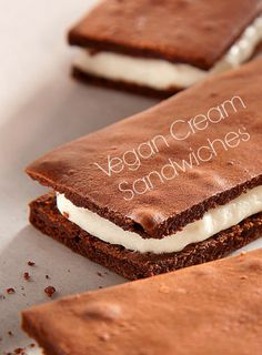 http://onegr.pl/1lczJG4 Vegan Cream Sandwiches (what is whipped cream stabilizer?)