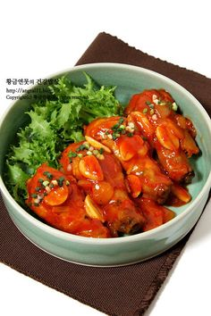 후라이팬 닭다리구이, 닭다리요리 맵지않아 아이들도 잘먹어요 – 레시피 | Daum 요리