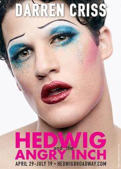 Darren Criss gets glittery for HEDWIG