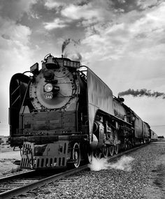 Union Pacific steam engine visiting WaKeeney, KS, in celebration of the 150th anniversary of the Pacific Railroad Act.