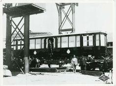 Modelo de vagón empleado el día de la inauguración de Metro de Madrid