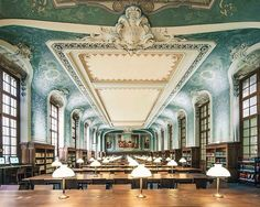 Sorbonne University Library  Paris, France Photo by Franck Bohbot