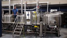 Blue Blood has a 4 vessel brewing system.  Ono will have a 2 vessel.  System combines the two tanks on the right for a mash/lauter tun and the two vessels on the left are combined in to a boiler/whirlpool