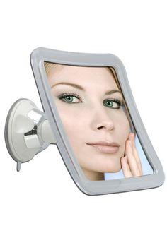 10 times magnification Power Suction Swivel Mirror