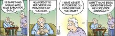 Pickles for 4/27/2021 Older Couples, Comic Strips, Pickles, Im Not Perfect, Humor, Comics, Comic Books, I'm Not Perfect, Elderly Couples