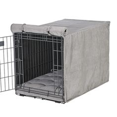 Felix Chien - Silver Treats Dog Crate Cover , $79.99 (http://www.felixchien.com/silver-treats-dog-crate-cover/)