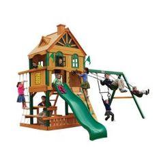 Riverview Cedar Play Set
