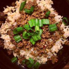 Korean Beef on Rice