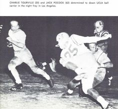 1956 Oregon - UCLA football game. From the 1957 Oregana (University of Oregon yearbook). www.CampusAttic.com