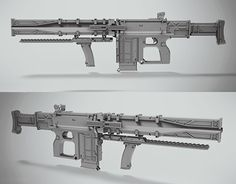 """Check out new work on my @Behance portfolio: """"NEWEDEN concept rifle"""" http://be.net/gallery/58467911/NEWEDEN-concept-rifle"""