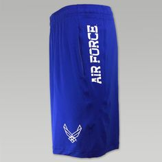 """You are a die hard Air Force supporter or member who loves to wear gear all the time! Now you can celebrate your enthusiasm in a new way by getting these great Air Force Under Armour Wings Raid Shorts. &nbsp  90% Polyester / 10% Spandex 9"""" inseam All new fabrication with incredible stretch and recovery  Improved moisture wicking and durability Open hand pockets Branded inner waistband Anti odor technology Screen print """"Air Force"""" down the left side with wings design on..."""