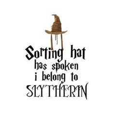 Proud Slytherin