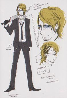 (Kuroshitsuji/Black Butler - Eric Slingby) Promo concept art Yana Toboso. Clickthrough for full outfit breakdown!