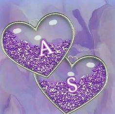 Anna and Sebastian Love Images With Name, Love Heart Images, Cute Love Images, Cute Love Quotes, Alphabet Letters Design, Alphabet Images, Letter Art, Love Quotes Wallpaper, Heart Wallpaper