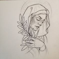Virgin Mary for today.