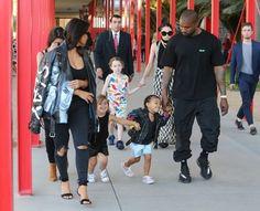 Kim Kardashian Photos Photos - The Kardashian family was spotted enjoying an afternoon out at LACMA in Los Angeles, California on April 2, 2016. - The Kardashian Family at LACMA